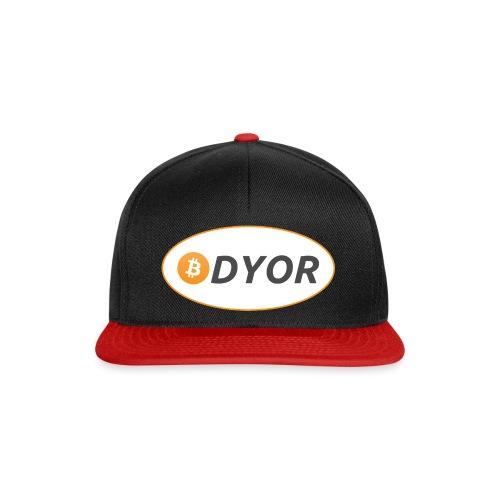 DYOR - option 2 - Snapback Cap