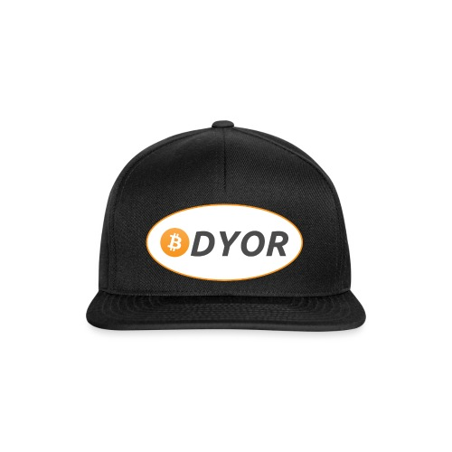 DYOR - option 2 - Snapback Cap