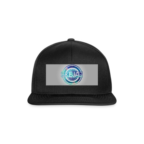 LOGO WITH BACKGROUND - Snapback Cap
