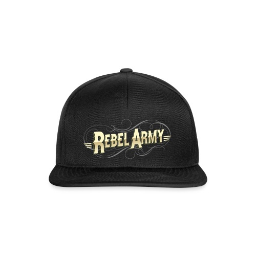 rebel army solo letras - Gorra Snapback
