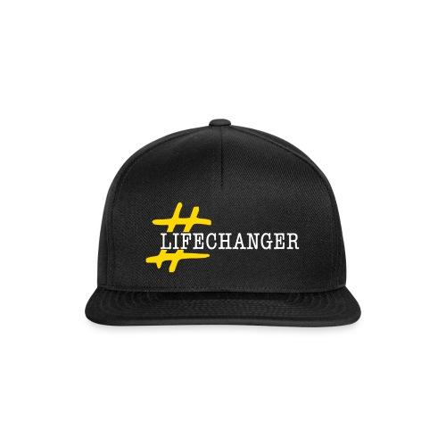 lifechanger logo - Snapback Cap