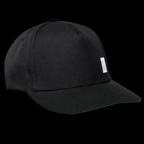 white logo transparent - Snapback Cap