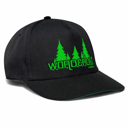 Wanderlust - Snapback cap