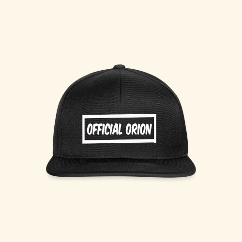 Official Orion Box Logo - Snapback Cap