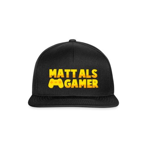 Matt Als Gamer Logo - Snapback cap