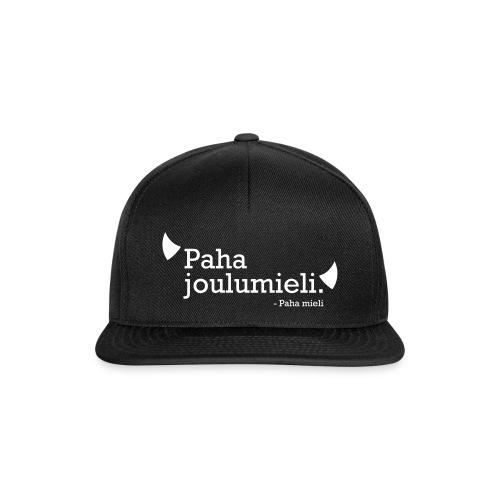 Paha joulumieli - Snapback Cap