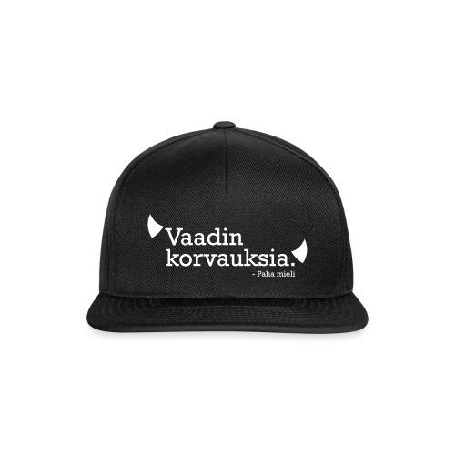 Vaadin korvauksia - Snapback Cap