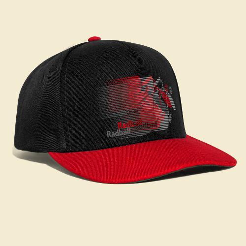 Radball | Earthquake Red - Snapback Cap