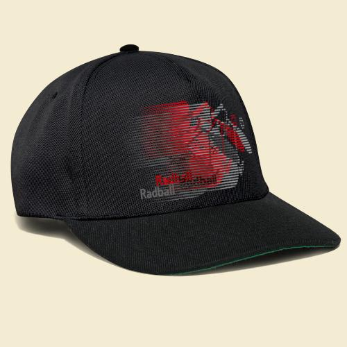 Radball | Earthquake Red - Snapback Cap