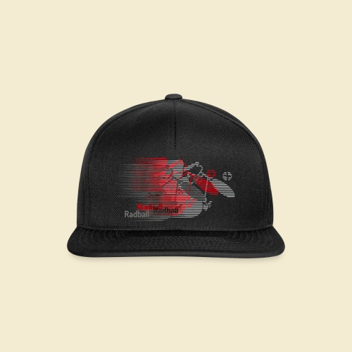 Radball   Earthquake Red - Snapback Cap