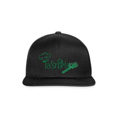 TasteQuake Logo - Snapback Cap