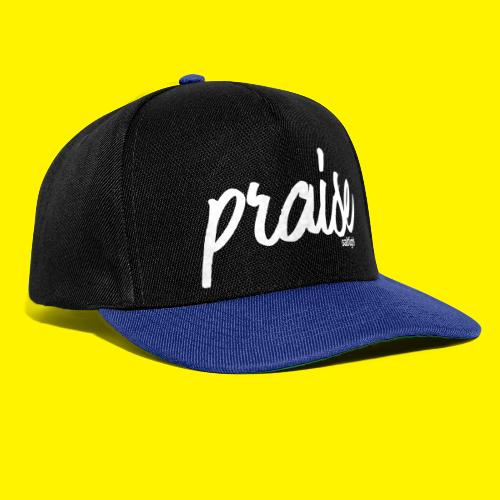 Praise (WHITE) - Snapback Cap