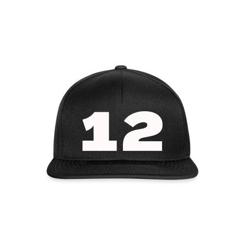 Het getal twaalf - Snapback cap
