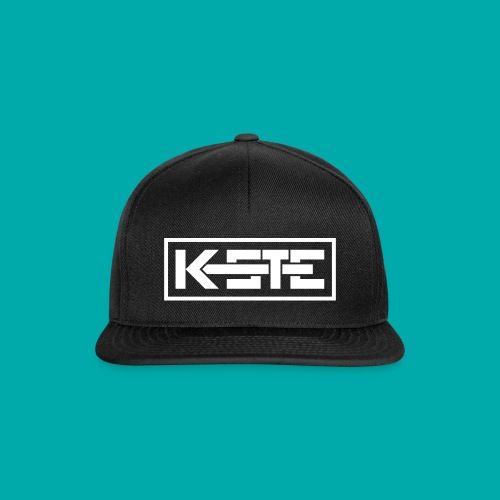 K-STE Logo weiß - Snapback Cap