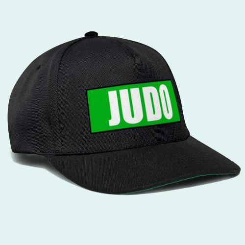 Judo Gruen 3. Kyu - Snapback Cap