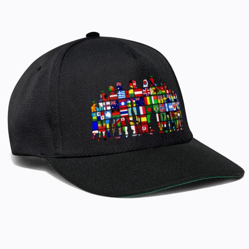 all the world - Snapback Cap