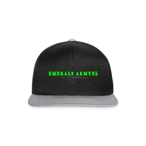 EMERALDARMYNL LETTERS! - Snapback cap