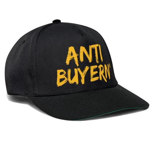 ANTI BUYERN YELLOW - Snapback Cap