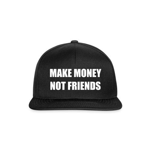 MAKE MONEY NOT FRIENDS LOGO - Snapback Cap