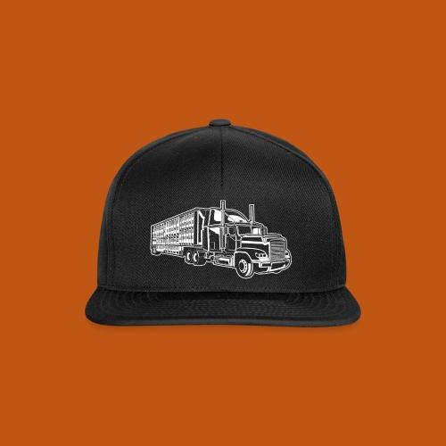 Truck / Lkw 01_weiß - Snapback Cap
