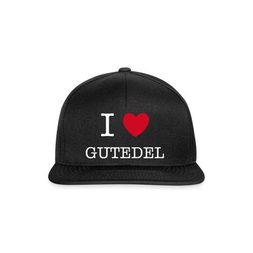 I LOVE GUTEDEL - Snapback Cap