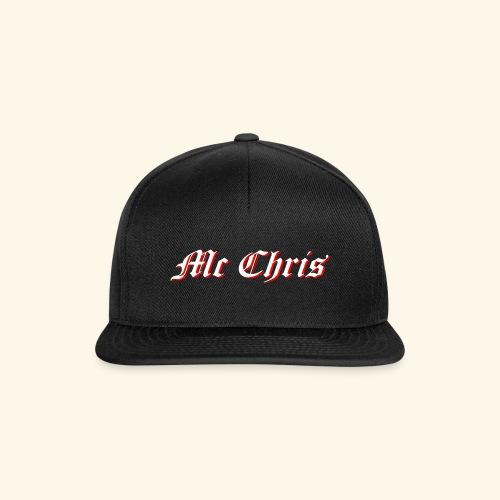 McChrislOGO11 - Snapback Cap