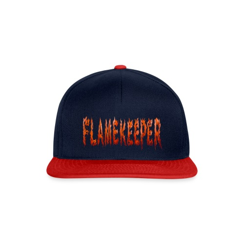 flamekeeper name logo - Snapback cap