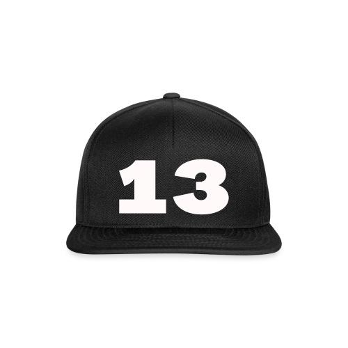 Getal 13 - Snapback cap