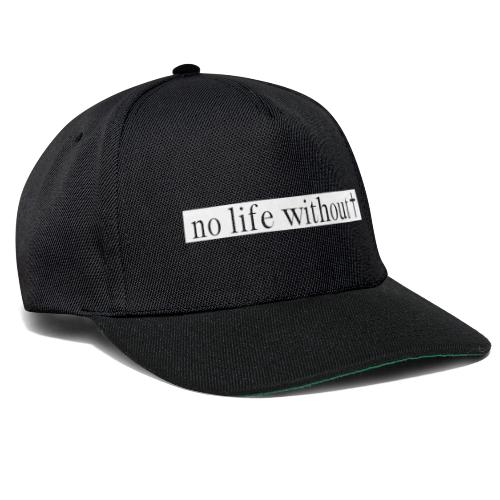 No life without Jesus (White) - Snapback Cap