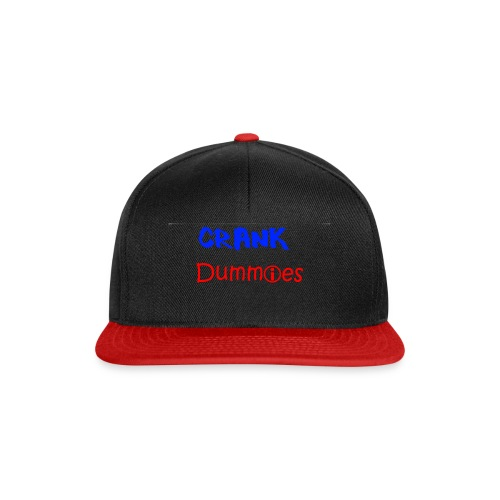 Crank Dummies LOGO - Snapback Cap