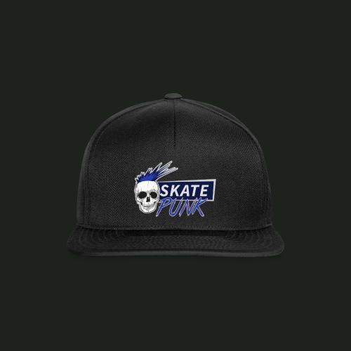 SkatePunk Logo - Snapback Cap