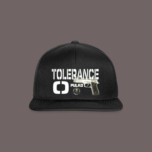 vignette tolerance 0 png - Casquette snapback