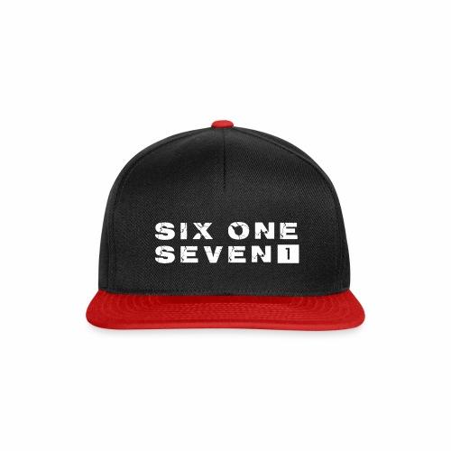 SIX ONE SEVEN 1 LOGO - Snapback Cap