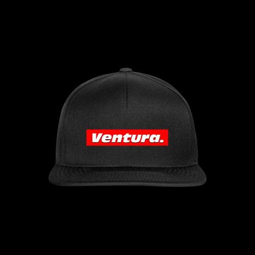 Ventura Red Logo - Snapback cap