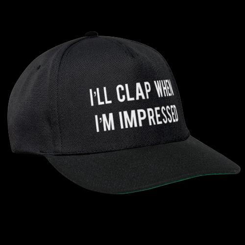 Impressed 1 White - Snapback Cap