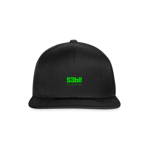 S3bi! Full Logo - Snapback Cap
