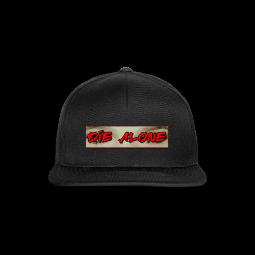 DIE ALONE - Snapback Cap
