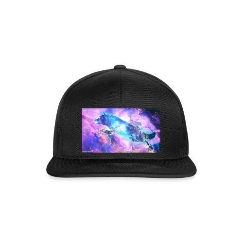galaxy wolf - Snapback Cap