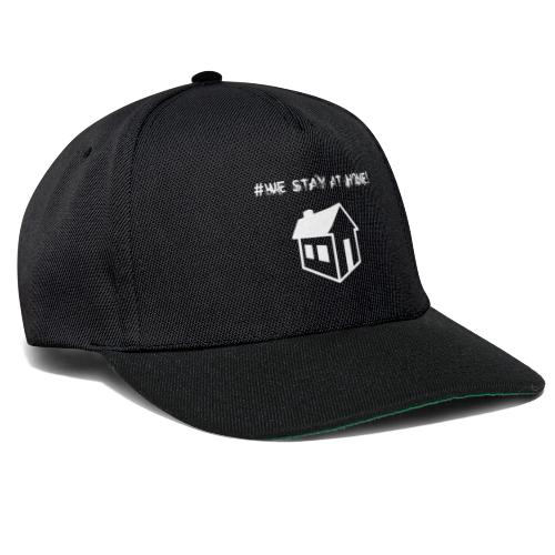 #We stay at home! - Snapback Cap