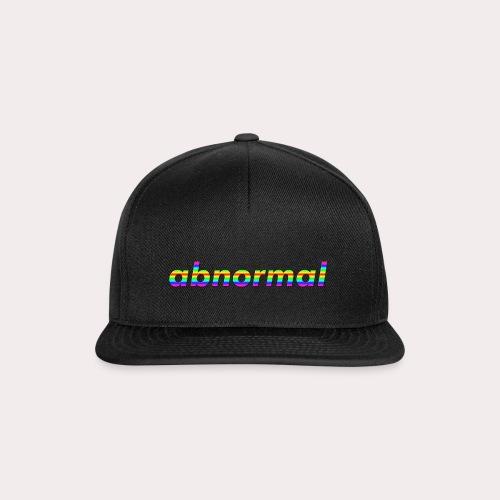 Abnormal Logo Rainbow - Snapback Cap