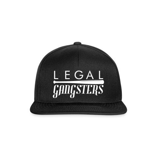 LEGAL GANGSTERS -Crew Design - Snapback Cap