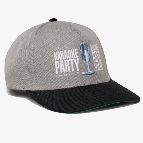 Karaoke party - Gorra Snapback
