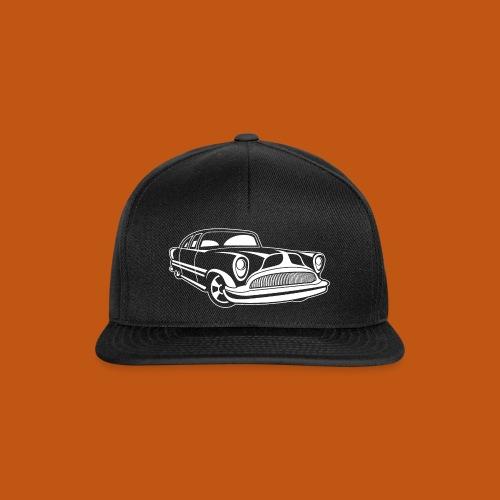 Lowrider / Oldtimer / Muscle Car 03_weiß - Snapback Cap
