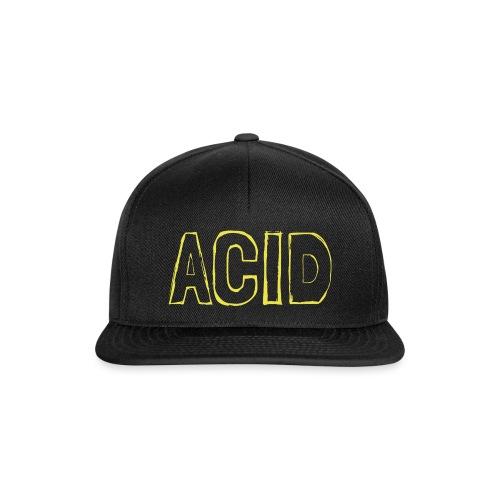 Acid Typo / 03 - Snapback Cap
