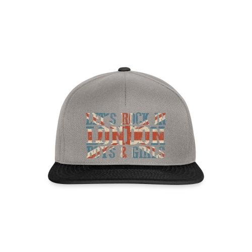 LET'S ROCK IN LONDON - Snapback Cap