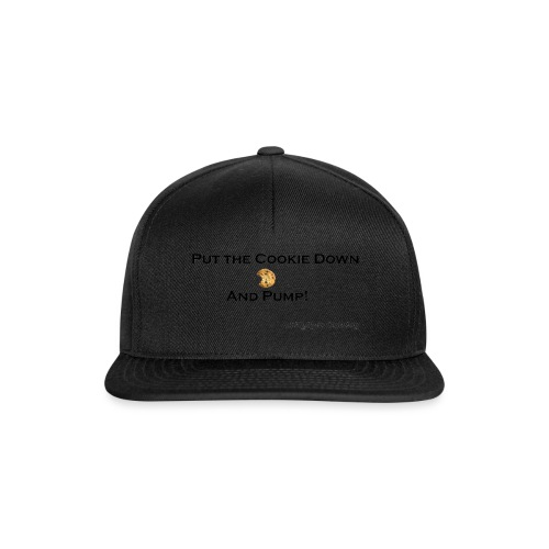 cookie black png - Snapback Cap