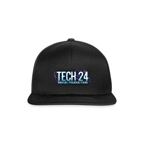 Tech 24 Logo - Snapback Cap