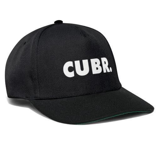 CUBRwhite balr speedcuber - Snapback Cap