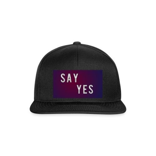 S A Y Y E S - Snapback Cap