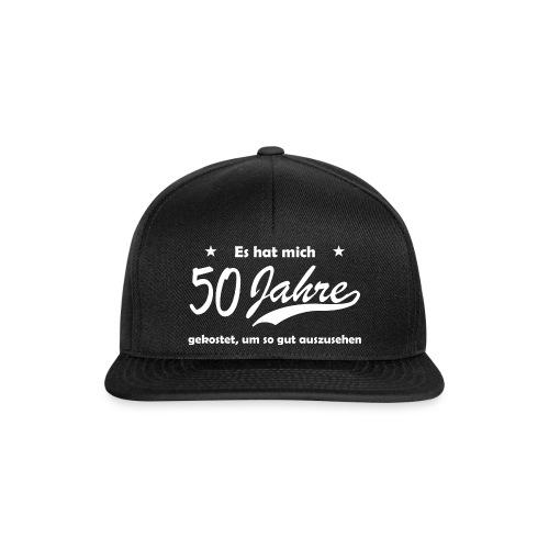 50 Jahre Erfahrung - Snapback Cap